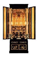 京型台付 白蓮(ビャクレン)  浄土宗用 高さ166×幅66×奥64cm